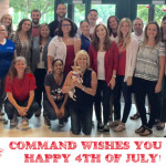 Command wishes you a Happy 4th of July!