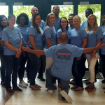 Our team is wearing t-shirts in anticipation of the upcoming WCI Workers' Compensation Conference, which will be held at the Orlando World Center Marriott August 6th-9th
