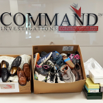 Command's staff participates in shoe drive for Haiti