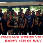 Command wishes you a safe and happy 4th of July weekend!