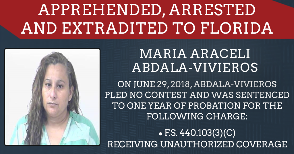 Maria Abdala-Vivieros enters no contest plea