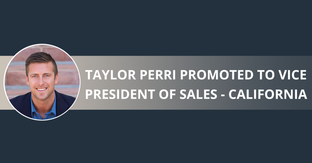 Taylor Perri promoted to Vice President of Sales - California