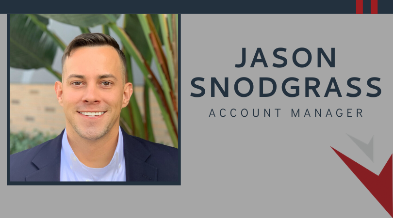 Jason Snodgrass promoted to Account Manager
